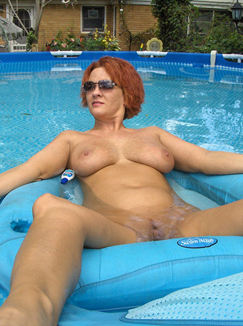 Busty milf naked Nude Mature